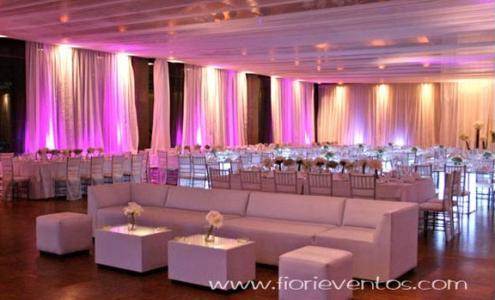 decoracion de techo con telas ecuador fiori